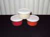 3 Pack Fibers Red-Orange-White :
