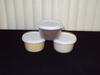 3 PACK FIBERS White-Tan-Off White :